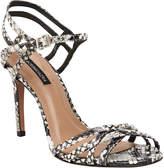 BCBGMAXAZRIA Tanya Strappy Ankle-Wrap Sandals