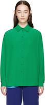 Stella McCartney Green Silk Angeline Shirt