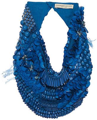 Mignonne Gavigan Haley Scarf Necklace - Blue