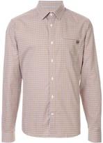 Gieves & Hawkes check long-sleeve shirt
