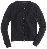 J.Crew Cambridge cable cardigan sweater