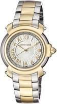 Roberto Cavalli Women's RV1L005M0076 Yellow Gold IP Two Tone Watch