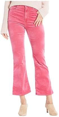 J Brand Julia High-Rise Flare in Rose Petal