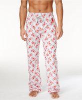 Psycho Bunny Men's Woven Graphic-Print Logo Pajama Pants