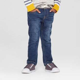 Cat & Jack Toddler Boys' Pull-On Skinny Jeans - Cat & JackTM Medium Wash