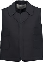 Valentino Wool and silk-blend vest