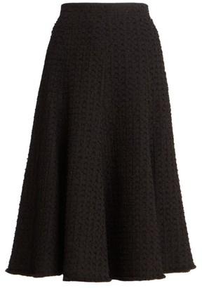Thom Browne Eyelash Tweed Flounce Skirt