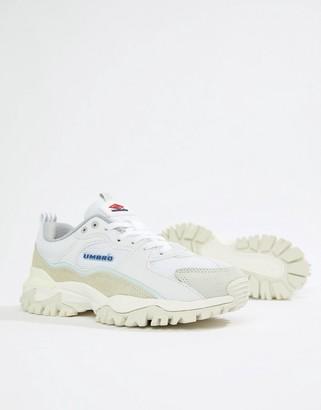 Umbro Bumpy Sneakers in White