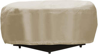 """Protective Covers 48"""" Round Fire Pit Cover - Tan"""