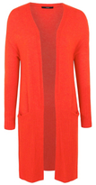 George Long Line Open Front Cardigan