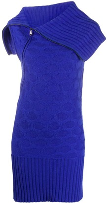 Versace Pre-Owned 2000s Patterned Knitted Dress