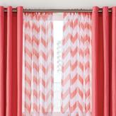 WholeHome style factory 2-Pack Printed Sheer Voile Rod-Pocket Panels - Curtain