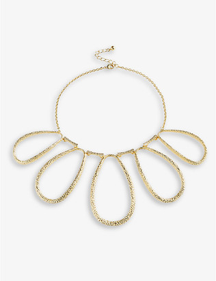 Ted Baker Moondust gold-plated brass necklace