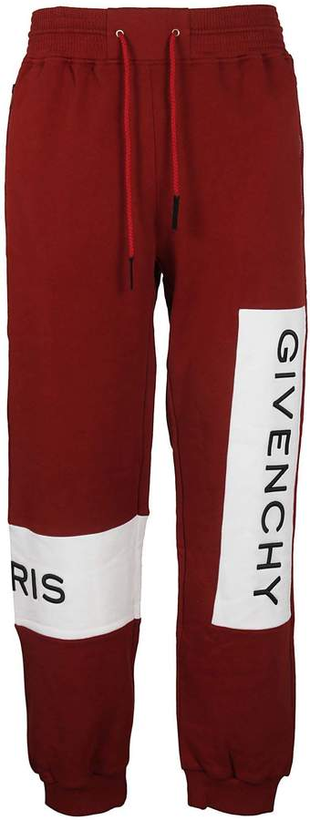 Givenchy Drawstring Color-block Track Pants