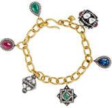 Amrapali 18-karat Gold Multi-stone Bracelet - one size