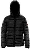 BearPaw Black Fargo Puffer Coat - Women