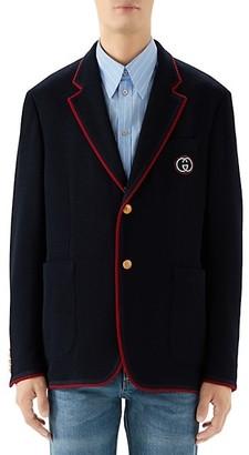 Gucci New Wool & Cotton Blazer Jacket