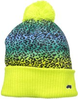 TRUKFIT Big Girls' Cheetah Beanie Hat