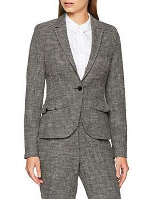 S'Oliver BLACK LABEL Women's 11.809.54.3656 Suit Jacket, Grey/Black Tweed 99P1, UK