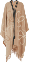 Loewe Wool And Cashmere Blanket Cape
