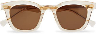 Native Sons Kowalski Square-Frame Acetate Sunglasses