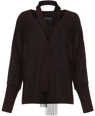 Phase Eight Sameera Scarf Tie Knit Jumper