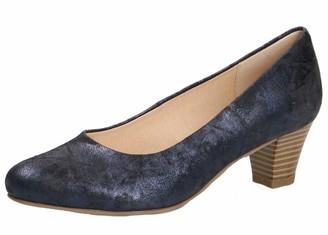 Caprice 22306-22 Women Classic Court Shoes Heel Shoes Evening Elegant Comfortable