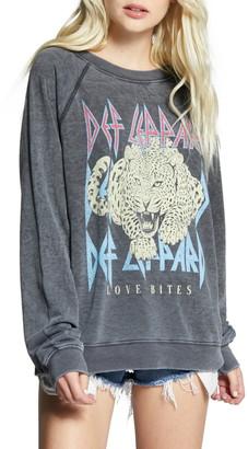 Recycled Karma Def Leppard Love Bites Sweatshirt