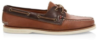 Sperry Handcrafted In Maine 2-Eye Leather Boat Shoes