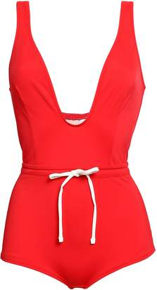 Solid & Striped The Edie Bow-detailed Swimsuit