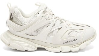 Balenciaga Track Low Top Trainers - Mens - White