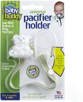 Baby Buddy Universal Pacifier Holder, Sage with White Stitch by