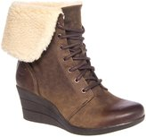 UGG Women's Zea Waterproof Lace Up Wedge Boot