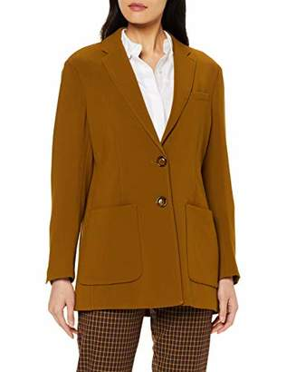 Benetton Women's Basico 1 Woman Coat,6 (Size: )