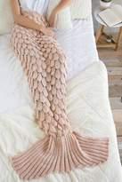 Shiraleah Blush Cozy Mermaid Blanket
