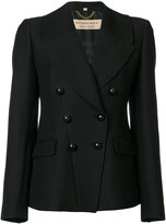 Burberry double breasted fitted coat