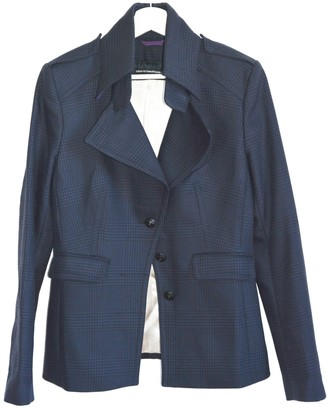 Drykorn Blue Wool Jacket for Women