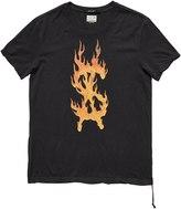 Ksubi Travis Scott Flaming Dollar T-Shirt