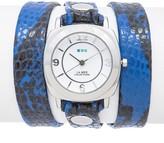 La Mer Women's Electric Blue Snake Watch