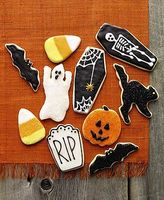Martha Stewart Collection Halloween Cookie Cutters Set Of 7 Creepy Baking Spooky Ghost