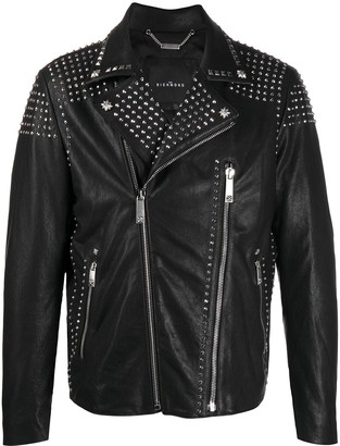 John Richmond Steele biker jacket