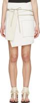 Isabel Marant White Wrap Liam Skirt