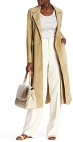 Derek Lam Leather Trench Coat