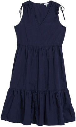 Susina Tiered Tie Sleeve Dress