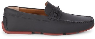 Bally Pitaval Leather Bit Loafers
