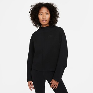 Nike Women's Sportswear Tech Fleece Crewneck Sweatshirt