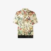 Gucci Short Sleeve Printed Bowling Shirt
