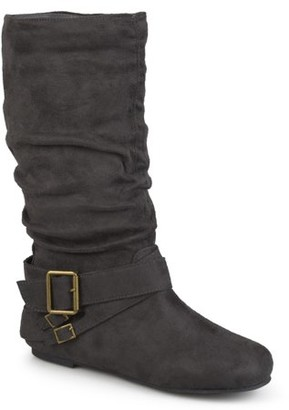 Brinley Co. Buckle Mid-Calf Slouch Boot (Women's)