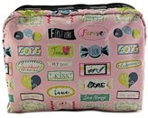 Le Sport Sac Sweet Talk Women Pink Cosmetic Bag.