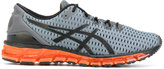 Asics neon sole lace-up sneakers